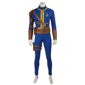 Game Fallout 4 Vault 111 Cosplay Costume Uniform