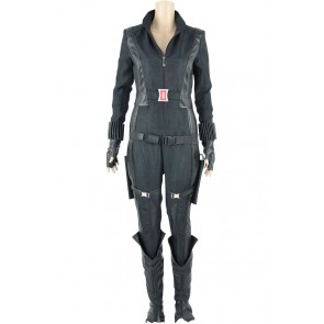 Captain America 2 The Winter Soldier Natasha Romanoff Black Widow Cosplay Costume
