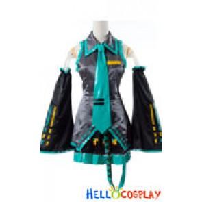 Vocaloid 2 Cosplay Hatsune Miku Black Costume