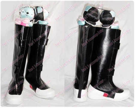 Pokemon Special Cosplay Silver Shoes