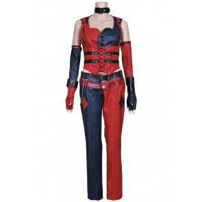 Batman: Arkham City Harley Quinn Costume Leather