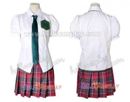 Neon Genesis Evangelion EVA Cosplay Mari Illustrious Makinami Uniform