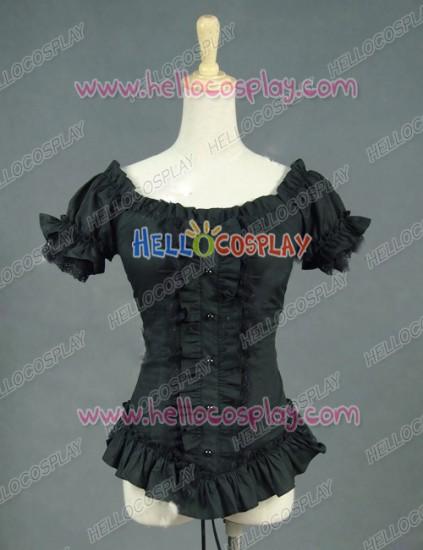 Victorian Lolita Steampunk Blouse Punk Lolita Dress