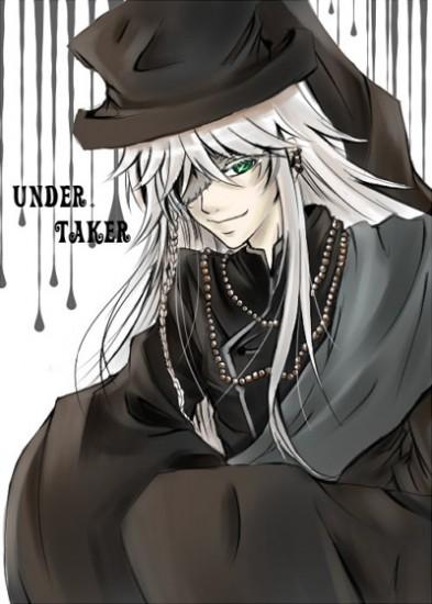 Black Butler Cosplay Undertaker Wig