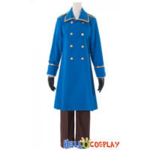 Hetalia Axis Powers Cosplay Austria Military Uniform
