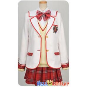 Daitoshokan No Hitsujikai Cosplay Tsugumi Shirasaki Uniform Costume