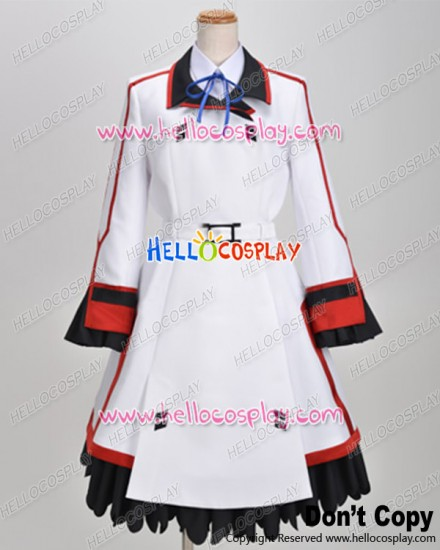 IS Infinite Stratos Cosplay Cecilia Alcott Costume School Girl Uniform