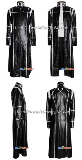 Katekyo Hitman Reborn Tailor Made Leather Coat