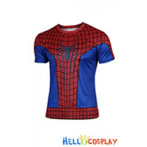 Spider Man Peter Parker The Amazing Cosplay Costume T Shirt