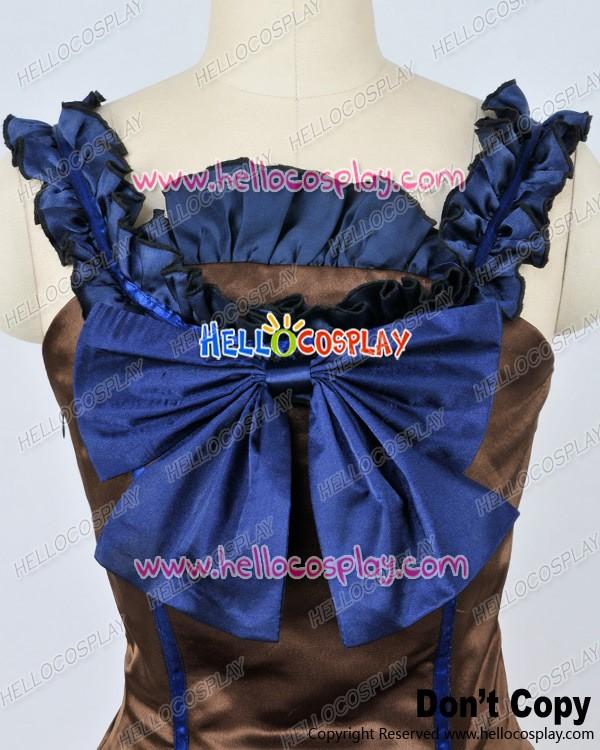 Southern Belle Ball Gown Chocolate Wedding Lolita Dress