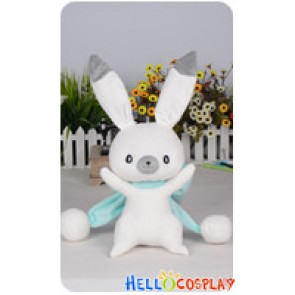 Vocaloid 2 Cosplay Snow Miku 2014 Adorable Rabbit Plush Doll