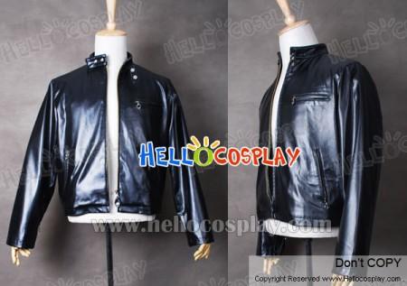 Smallville Clark Kent Cosplay Black Leather Jacket Coat Costume