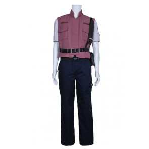 Resident Evil 5 Cosplay Chris Barry Burton Costume