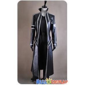 Sword Art Online Cosplay Kazuto Kirigaya Costume Leather Coat