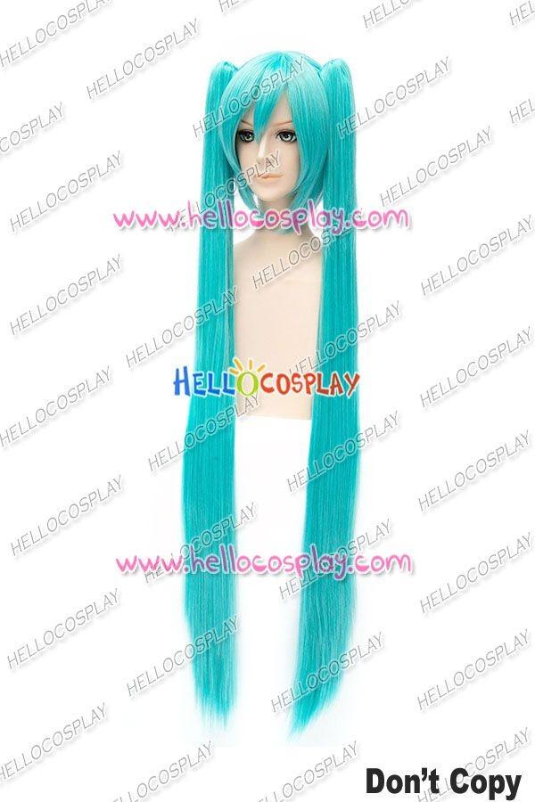 Anime Vocaloid Hatsune Miku Cosplay WIG 2 Ponytails 11 color Costume Hari Wig