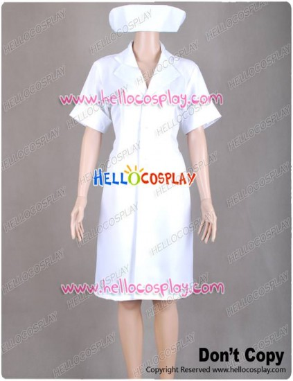 Kill Bill Villains Elle Driver Cosplay Costume Nurse Uniform