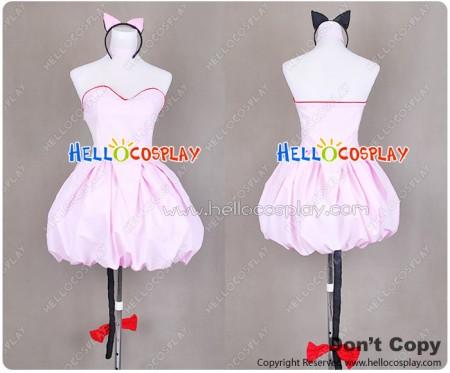 Tokyo Mew Mew Cosplay Ichigo Momomiya Costume Dress