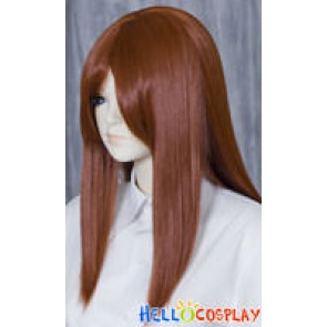 Brown Black 50cm Cosplay Straight Wig