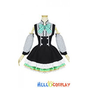 Love Live Cosplay Eli Ayase Maid Dress