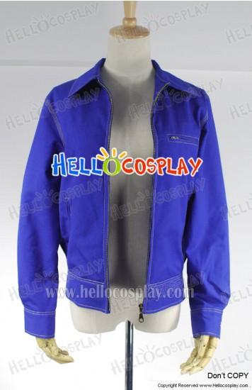 Smallville Clark Kent Cosplay Blue Denim Jacket Coat Costume