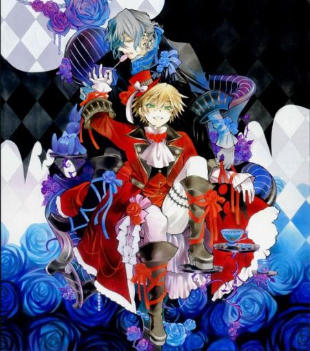 Pandora Hearts Cosplay Oz Vessalius Costume Red