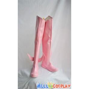 Puella Magi Madoka Magica Cosplay Madoka Kaname Boots