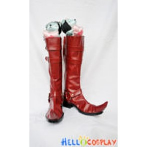 Blue Exorcist Cosplay Mephisto Pheles Red Boots