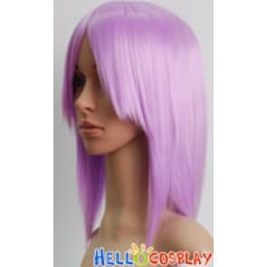 Light Purple Violet Short Cosplay Wig