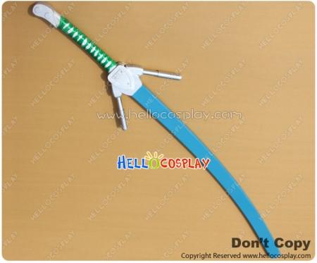 BlazBlue Cosplay Jin Kisaragi Snow Sword Weapon