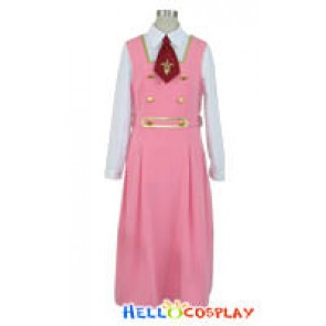 Code Geass Nunnally Lamperouge Cosplay Costume