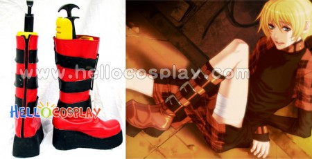Rin Cosplay Boots From Togainu No Chi
