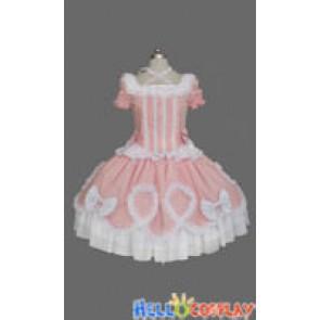 Gothic Lolita Punk Gorgeous Pink Cute Dress
