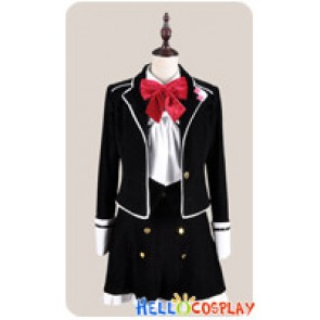 Diabolik Lovers Cosplay Yui Komori School Girl Uniform Costume