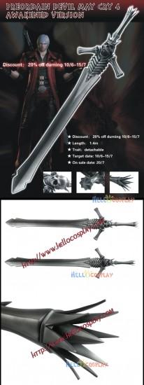 Devil May Cry 3: Dante's Awakening Dante Cosplay Sword Rebellion