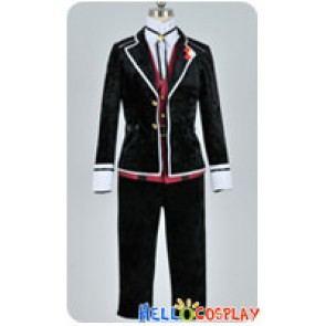 Diabolik Lovers Cosplay Kanato Sakamaki Uniform Costume Silk Velvet Ver