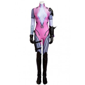 Overwatch Cosplay Widowmaker Costume Jumpsuit