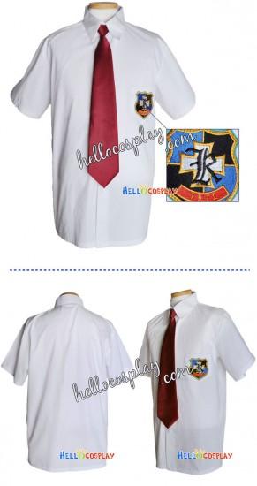 Clannad Cosplay School Boy Uniform Shirt