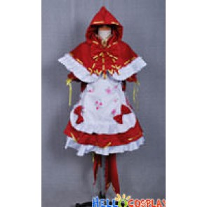 Vocaloid 2 Dress Project Diva 2nd Hatsune Miku Red Hat Costume
