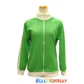 Vocaloid 2 Cosplay Costume Matryoshka Hatsune Miku Coat Green