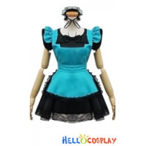 Angel Feather Cosplay Black Butler Maid Dress