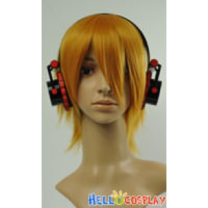 Vocaloid 2 Cosplay Meiko Earphone With Light and MP3