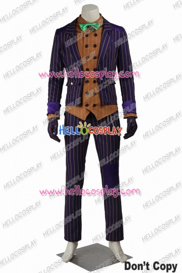 Batman Arkham Knight The Joker Cosplay Costume