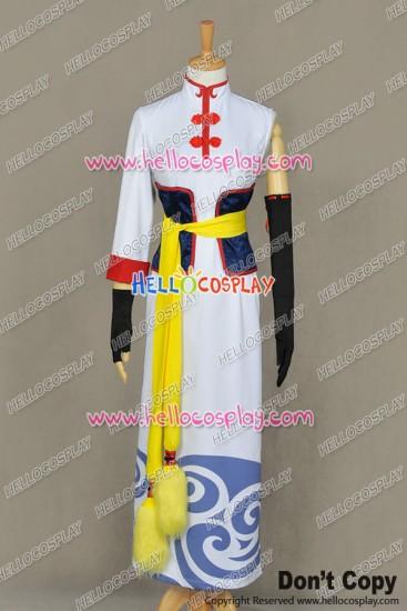 Gintama Silver Soul Cosplay Kagura Dress Costume Movie Version