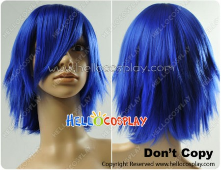 Vocaloid Kaito Cosplay Blue Wig