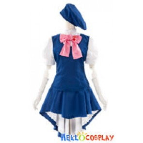 Macross Frontier Cosplay Sheryl Nome Plain Costume Full Set