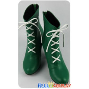 Sailor Moon Cosplay Sailor Jupiter Makoto Kino Shoes Boots