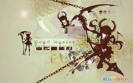 Black Rock Shooter Cosplay Dead Master's Weapon Dead Scythe