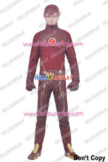The Flash 1 Barry Allen Cosplay Costume