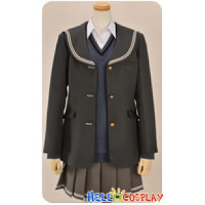 Amagami Cosplay Ai Nanasaki School Girl Uniform Costume