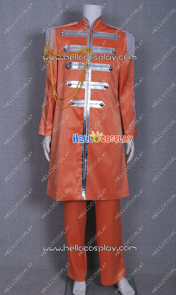 The Beatles Sgt.Pepper/'s Hearts Club George Harrison Cosplay Costume Outfit Suit
